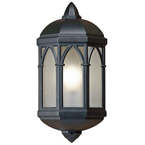 Gothic 75w half lantern outdoor wall light amazon lighting gothic 75w half lantern outdoor wall light aloadofball Gallery