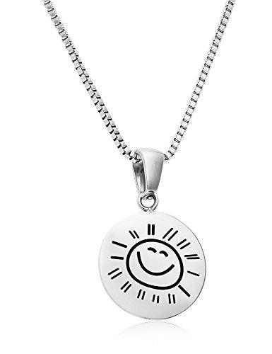Stainless Sunshine Necklace Regetta Jewelry