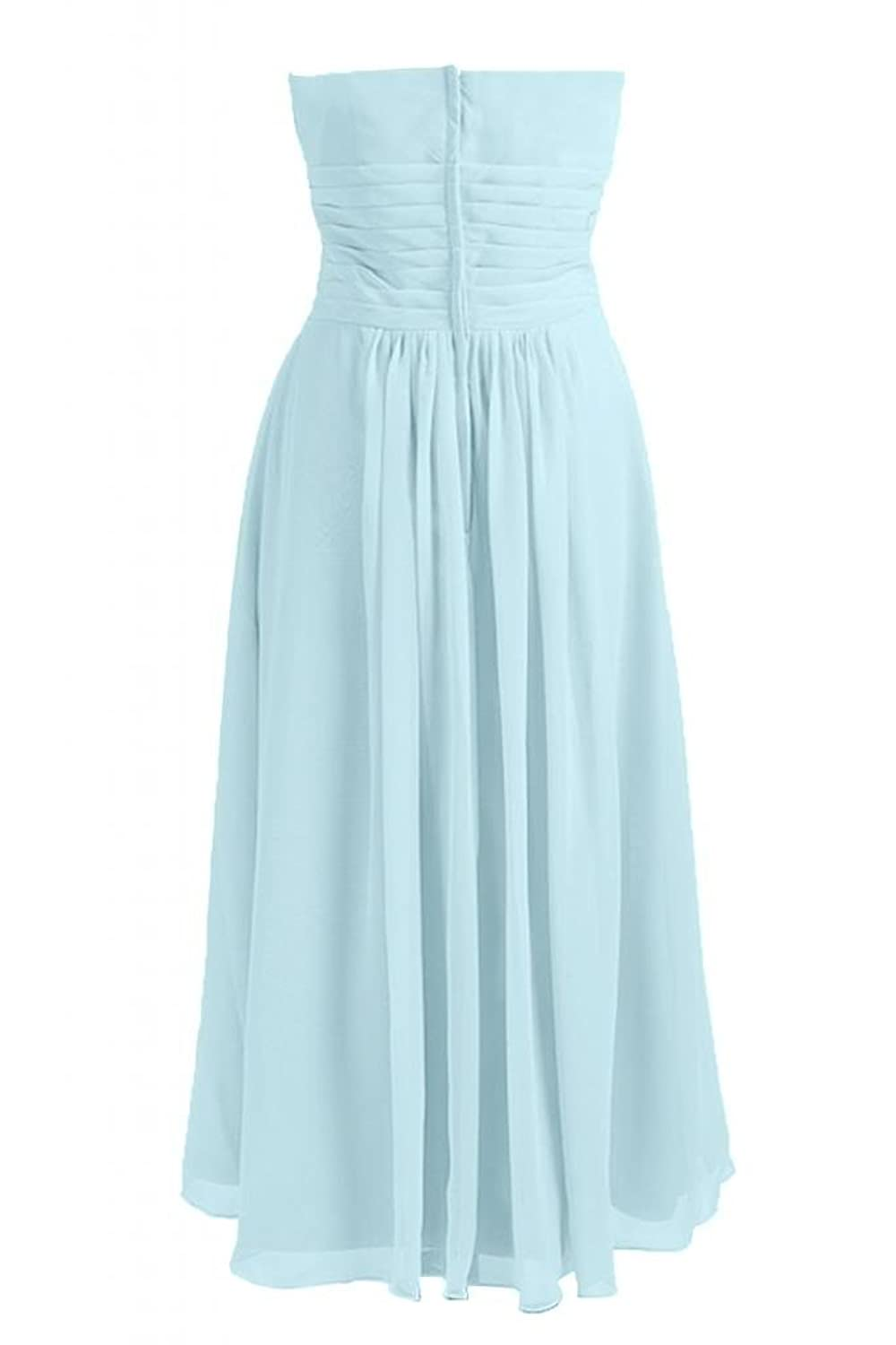 Sunvary Chic Chiffon A-Line Sweetheart Prom Party Dress Bridesmaid Dress