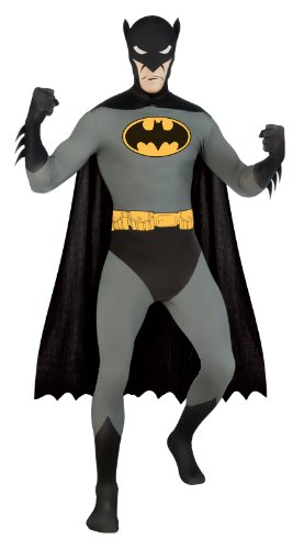 Batman 2nd Skin Suit Adult Costume (Batman 2nd Skin Costume)