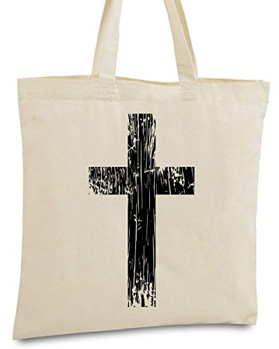 Awkward Styles Cross Tote Bag Christian Accessories Religious Gifts big black cross