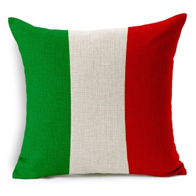 Personalized 18X18 Inch Brianbryan World Flags Collection Italian Flag Pillowcase Pillow Covers (Italian Flag Throw compare prices)