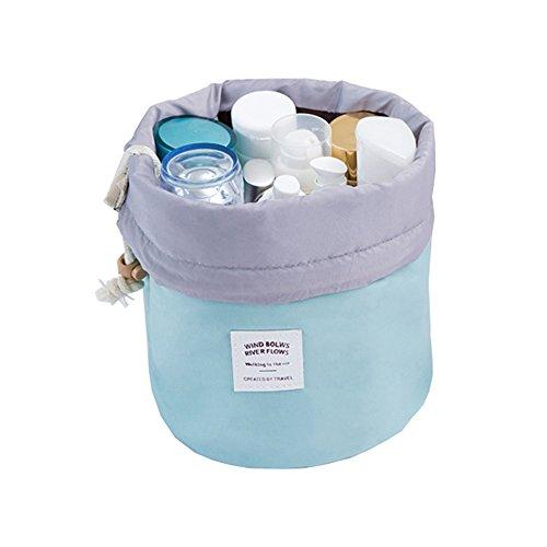 Waterproof Travel Makeup bag Bathroom bag Travel Kit Organizer Cosmetic Bag Carry On Case Bag(skyblue)