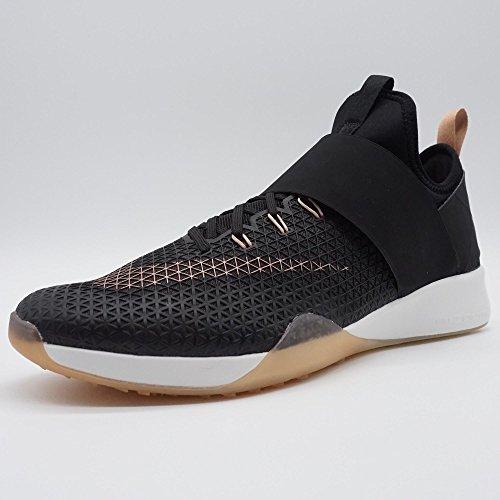Nike Damen Air Zoom Strong Laufschuhe Schwarz / Metallic Rot Bronze