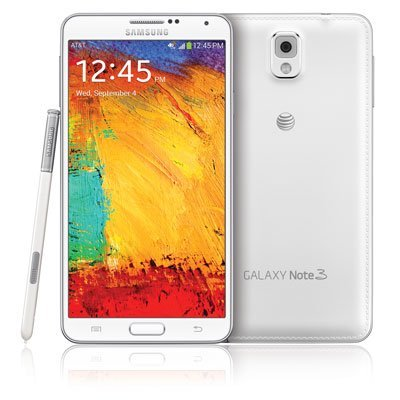 Samsung Galaxy Note 3 N900A 32GB White - - Cell Phone Note 3 For At&t