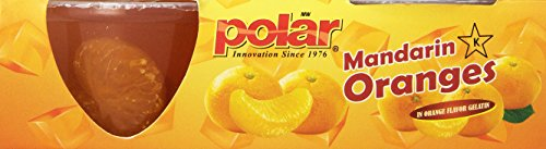 MW Polar Fruit Cup, Mandarin Orange Segments in Orange Gel, 4-Ounce (Pack of 12)