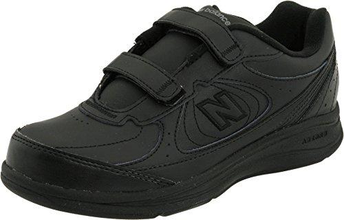 (ニューバランス) New Balance レディースウォーキングシューズ?靴 WW577 Hook and Loop Black 10 (27cm) EE - Extra Wide