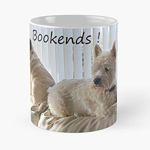 Canine West Highland Terrier Pug Westie 11 Oz Coffee Mugs Best Gift For Father Day ()