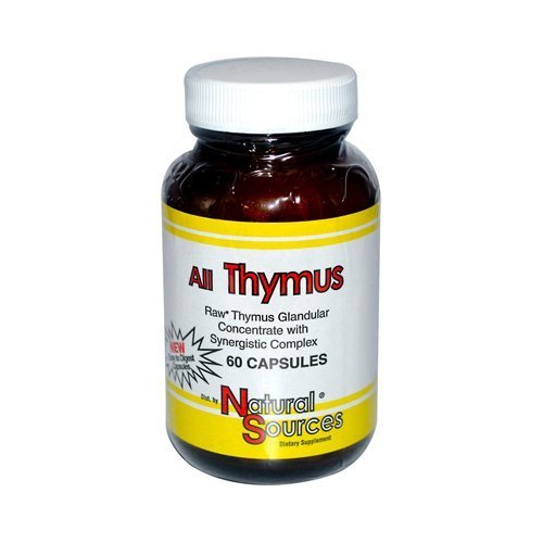 All Thymus - 60 tab ( Multi-Pack) by NATURAL SOURCES