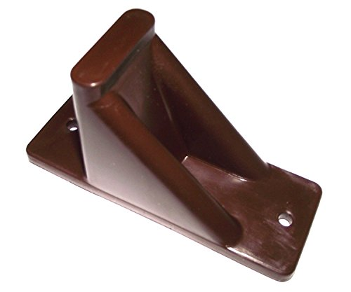 Plastic-Roof-Ice-Guard-Mini-Snow-Guard-100-Pack-Prevent-Sliding-Snow-Ice-Buildup-BROWN