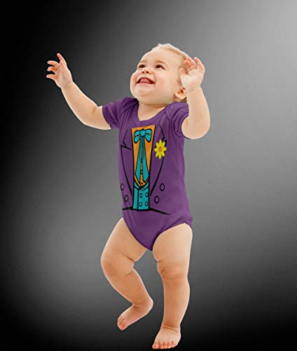 Baby Joker Costume Bodysuit