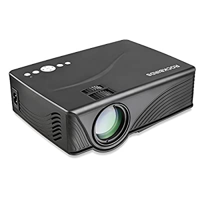 Projector, RockBirds Video Projector