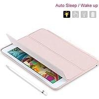 Smart Case Com Função Sleep Novo Ipad 2017 De 9.7 A1822 A1823- BEGE