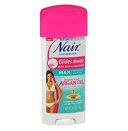 Nair Hair Remover Glides Away Nourish With Argan Oil 3.3 Ounce (97ml)