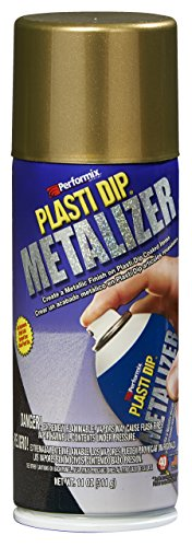 Performix 11288-6-6PK Bright Gold Metalizer Spray - 11 oz., (Pack of 6) by Plasti Dip (Image #1)