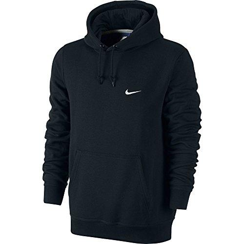 Nike Club Swoosh Men's Hoodie Black/White 611457-010 (Size M)