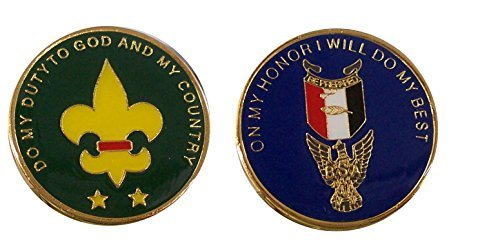 Eagle Scouts Challenge Coin / Logo Poker / Lucky Chip