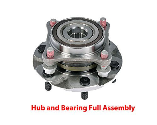 DTA Front Wheel Bearing & Hub Full Assembly NT515040G3 Brand New With Studs Fits 4WD Tacoma 4 Runner Lexus GX470 GX460 4WD Only