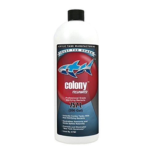 ATM Aquarium Products Colony Freshwater Nitrifying Bacteria 200 gal Tank Cycle 32 oz