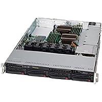 Supermicro 600 Watt 1U Rackmount Server Chassis (CSE-815TQ-600WB)