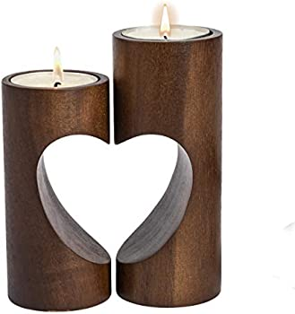ChasBete Romantic Tea Light Candle Holders Decorative