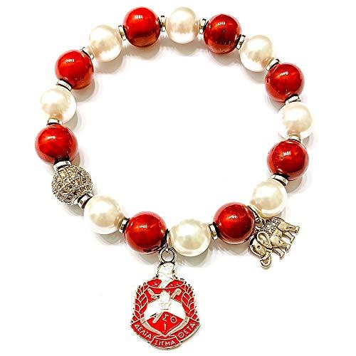 Delta Sigma Theta Shield Bracelet