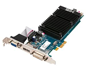 HIS ATI Radeon HD5450 Silence 1 GB DDR3 VGA/ DVI/ DisplayPort Low Profile PCI-Express Video Card H545H1GD1