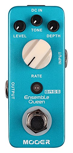 Mooer Audio Ensemble Queen Bass Chorus Pedal (MCH2-U)