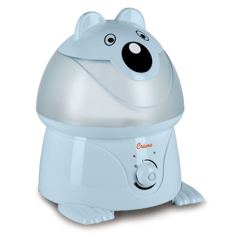 sonic Cool Mist Humidifier with 2.1 Gallon Output per Day - Blue Panda ()