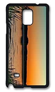 Adorable lake sunset horizon Hard Case Protective Shell Cell Phone Iphone 5/5S