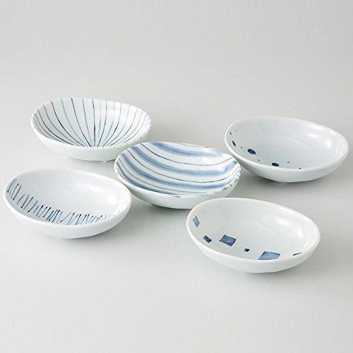 Saikai Pottery Traditional Japanese pattern small plates (5 plates!) 31789 from Japan by Saikai Pottery (Image #2)
