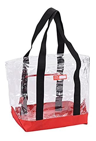 Rough Enough Clear Transparent Tote Beach Bag - Eco Large Tote Bag