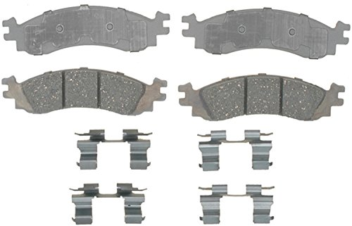 ACDelco 14D1158CH Advantage Ceramic Front Disc Brake Pad Set with Hardware