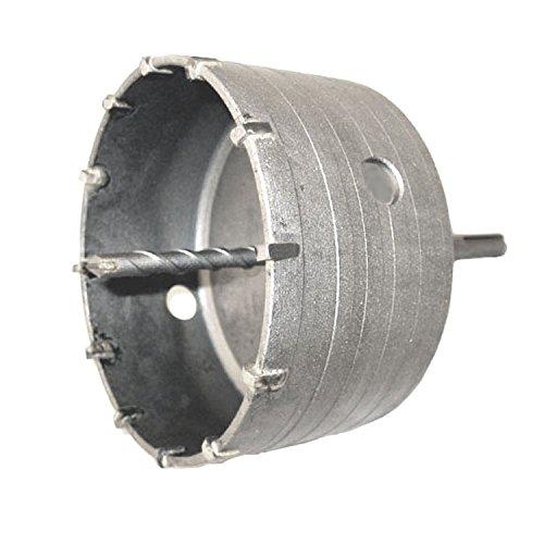 Voche® 125mm Diameter SDS + Tungsten Carbide Tipped (TCT) Core Drill – Masonry Concrete Stone Builders Brick Blocks Voche®
