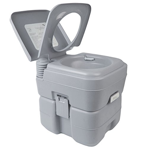 United Portable Toilet : Gallon l portable toilet flush travel camping outdoor
