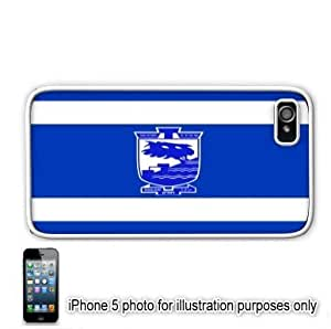 Holon Israel Flag Apple iPhone 5 Hard Back Case Cover Skin White by mcsharks