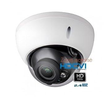 HD-CVI - Cámara Domo de vigilancia 1080P HDCVI Zoom motorizado 2.7 - 12 mm - cam-hdcvi-d3044: Amazon.es: Bricolaje y herramientas