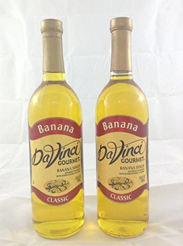 DaVinci Gourmet Banana Flavored Syrup 2 Bottles