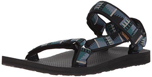 (Teva Men's M Original Universal Sport Sandal, Peaks Black, 12 M US)