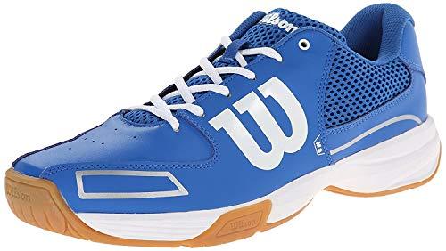 Wilson Unisex Storm Indoor Court Shoe-New Blue/New Blue/White-6