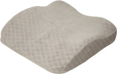 Rio Home Fashions Seat Cushion Memory Foam Pillow Is Covered In An  80 Percent Cotton / 20 Percent Polyester Velour Jacquard Zipper Cover.
