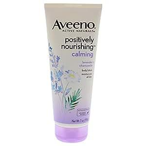 Aveeno Positively Nourishing Lavender And Chamomile Calming Body Lotion, 7 Fl. Oz