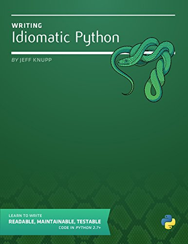Download Writing Idiomatic Python 2.7.3 Pdf