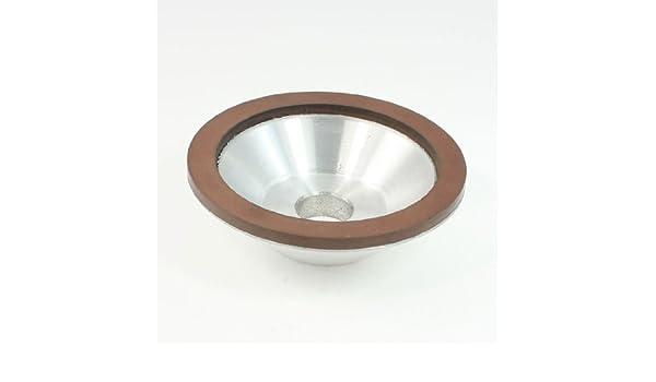 100mm Outside Dia 20mm Mounted Hole Resin Bond 1200 Grit Diamond Grinding Wheel