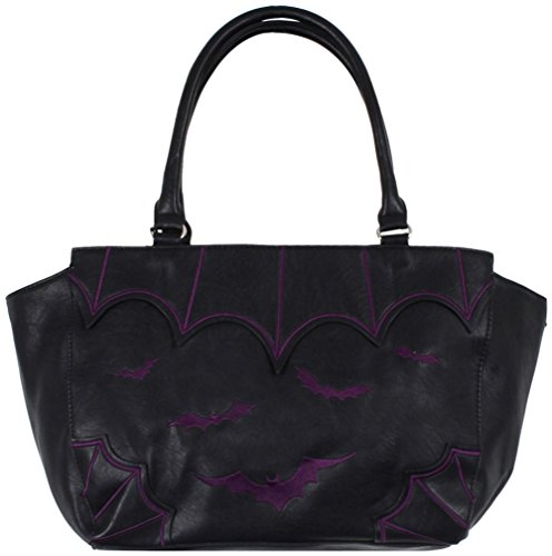 Banned Borsa Bat City in nero