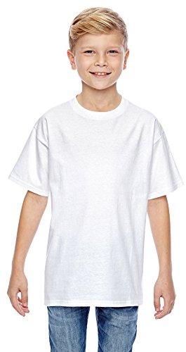 Hanes Youth 4.5 oz., 100% Ringspun Cotton nano-T® T-Shirt,