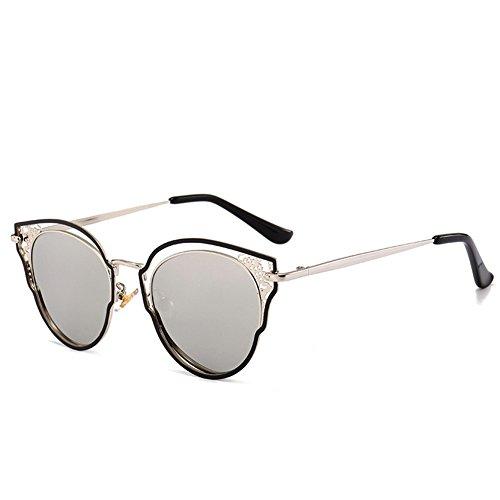 en dames 145 lunettes de 120 de de métal A de creux soleil Lunettes soleil de NIFG mode 45mm SwCZnt0Px