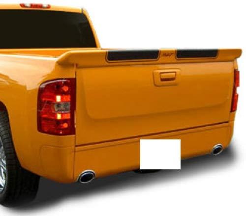 (707 Motoring Fits Chevy Silverado 2007-2013 Non Stepside Rear Trunk Spoiler Unpainted)