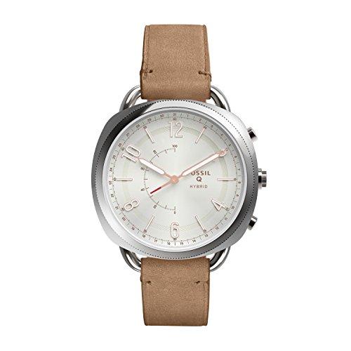 Fossil Women's Analog Quartz Smartwatch with Leather Strap FTW1200