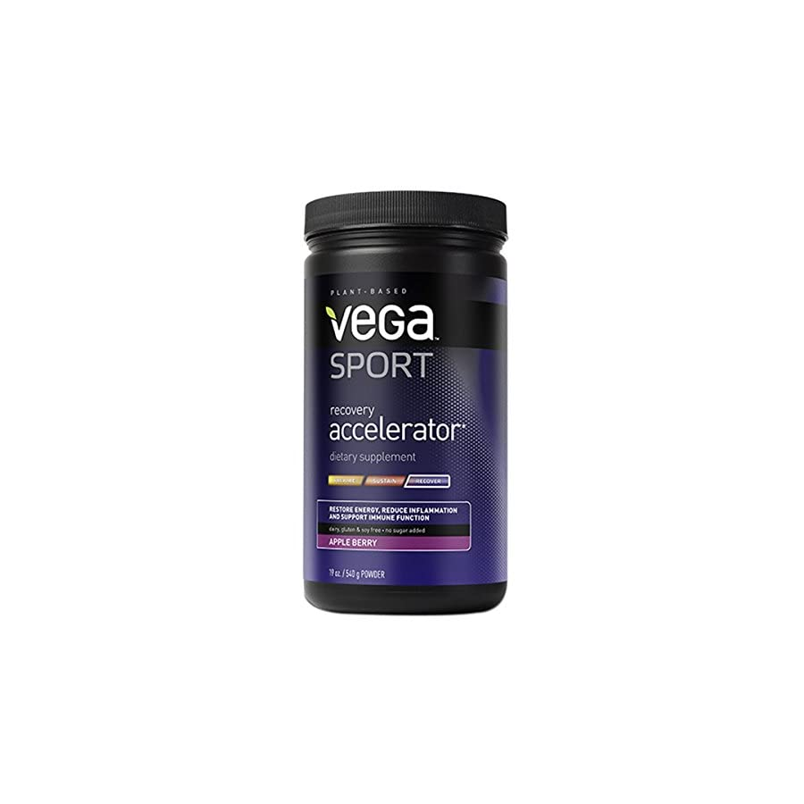 Vega Sport Recovery Acclerator, Apple Berry, Tub